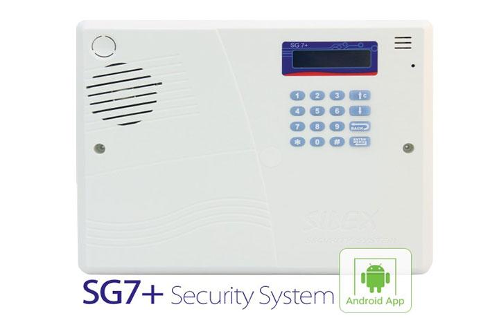 دزدگیر سایلکس مدل +SG7