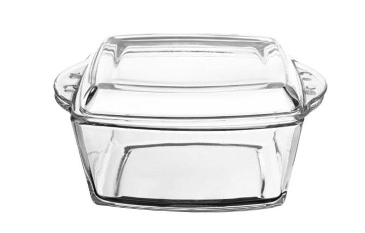 قابلمه شیشه ای درب دار پردیس